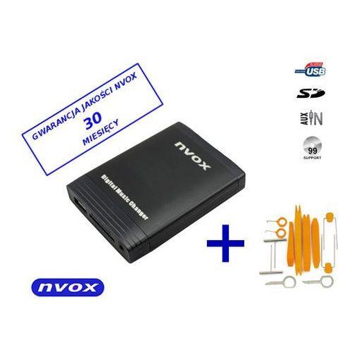 Zmieniarki samochodowe, NVOX NV1086M TOY 1 LEX 5-7 BIG Zmieniarka cyfrowa emulator MP3 USB SD TOYOTA LEXUS 5+7 WTYK