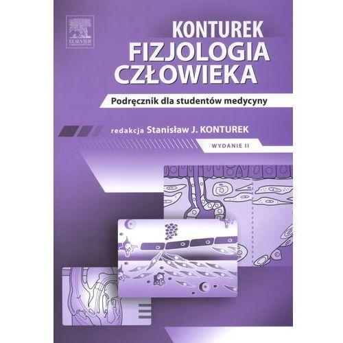 Książki o zdrowiu, medycynie i urodzie, Fizjologia człowieka. Konturek. Podręcznik dla studentów medycyny (opr. miękka)