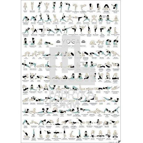 Plakaty, Plakat yoga
