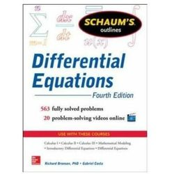 Schaum's Outline of Differential Equations, 4th Edition Bronson, Richard