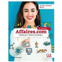 Książki do nauki języka, Affaires.com 3 ed.podr.+DVD niveau avance B2-C1 - Jean-Luc Penfornis (opr. kartonowa)