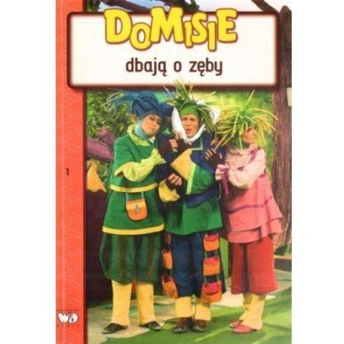 Książki dla dzieci, Domisie dbają o zęby (opr. miękka)