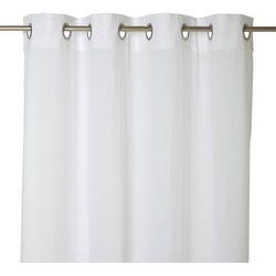 Firana GoodHome Mayna 140 x 260 cm biała