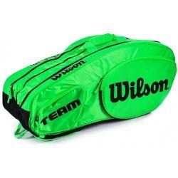 Wilson Tour Team III 12Pack Bag Green Black