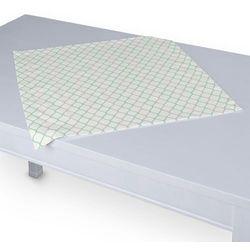 Dekoria Serweta 60x60 cm, szaro-miętowe fale na białym tle, 60 x 60 cm, Geometric