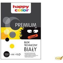 Blok techniczny biały A3 Happy Color