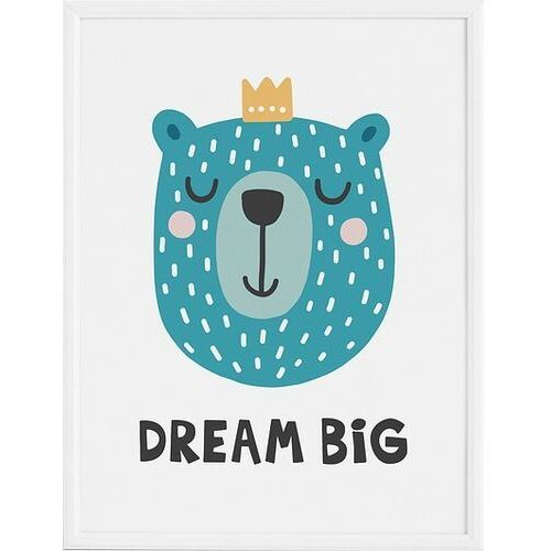 Plakaty, Plakat Dream Big 50 x 70 cm