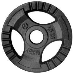 Obciążenie żeliwne do sztangi grafitowe (30,5 mm) 1,25 kg - 1,25 kg