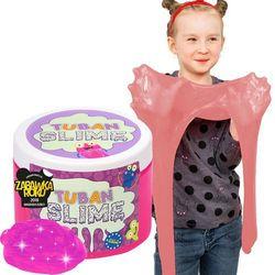 Russell Super Slime TUBAN Brokat Neon Różowy 0,5kg