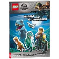 Książki dla dzieci, Lego Jurassic World Alarm W Dinoparku LSG-6201- bezpłatny odbiór zamówień w Krakowie (płatność gotówką lub kartą). (opr. broszurowa)