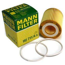FILTR OLEJU MANN HU711/4X (OE648/5) OPEL 1.9 CDTI