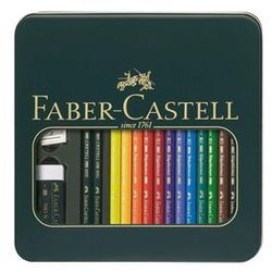 Faber Castell Faber-Castell Polychromos & Castell 9000 - coloured pencil and pencil set