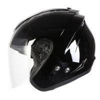 Kaski motocyklowe, !@ KASK OZONE A802 BLACK