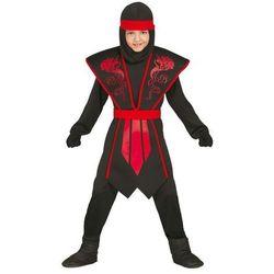 Strój Czerwony Ninja 7-9 lat
