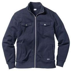 Bluza rozpinana z kieszeniami Regular Fit bonprix ciemnoniebieski