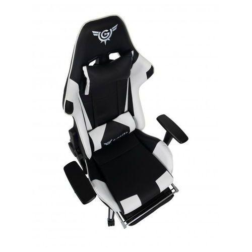 Fotele dla graczy, Fotel Gamingowy G-Racer Premium Dla Gracza szary