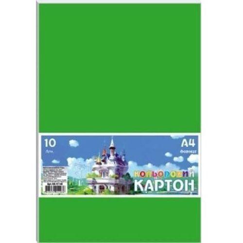 Pozostałe artykuły szkolne, Karton kolorowy A4/10 arkuszy 230g/m2 FRESH