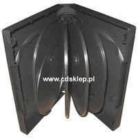 Pudełka i portfele na płyty, Etui plastikowe na 12DVD 39mm czarne
