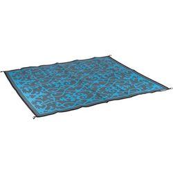 Koc plażowy dwustronny - Chill mat Picnic - 2 x 1,8m - Niebieski