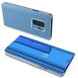 Clear View Case futerał etui z klapką Samsung Galaxy A50 niebieski