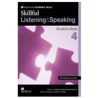 Książki do nauki języka, Skillful - Listening and Speaking - Level 4 Student Book & Digibook (opr. miękka)