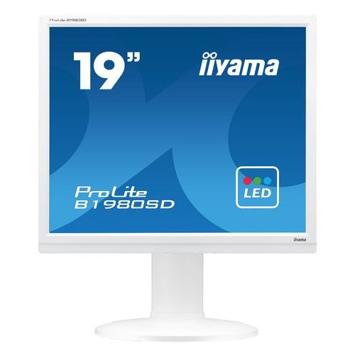 """Monitory LCD, MONITOR LED IIYAMA 19"""" B1980SD-B1 BLACK 5:4"""