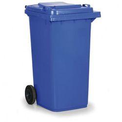 Plastikowy pojemnik na odpady CLD 240 litrów, niebieski