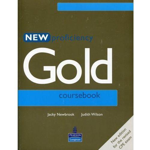 Książki do nauki języka, New Proficiency Gold Student&-8217;s Book (opr. miękka)