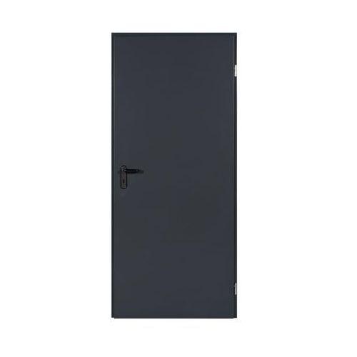 Drzwi zewnętrzne, Drzwi stalowe antracyt