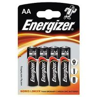 Baterie, Baterie alkaliczne 1,5V Energizer AA LR6 - 4szt.