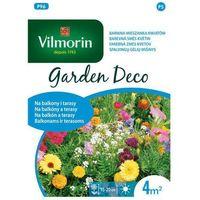 Nasiona, Mieszanka kwiatów na 4 m2 NA BALKONY I TARASY nasiona tradycyjne 8 g VILMORIN