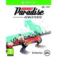 Gry na Xbox One, Gra Xbox One Burnout Paradise Remastered