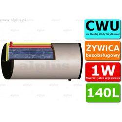 ERMET 140l skay dwupłaszczowy poziomy bojler do CWU - podgrzewacz wymiennik bezobsługowy - WYSYŁKA GRATIS