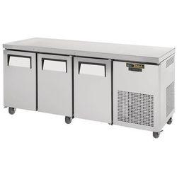 Stół mroźniczy 3-drzwiowy | jezdny | -23°C | GN1/1 | 456L