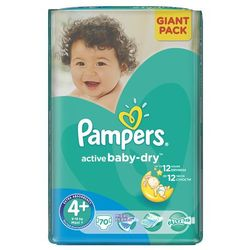 PIELUCHY PAMPERS GIANT A70 MAXI+ 9-16