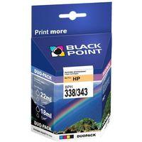 Tonery i bębny, Black Point BPH338 (zamiennik C8765EE nr 338) - produkt w magazynie - szybka wysyłka!