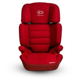 Fotelik samochodowy Junior 15-36 kg czerwony - KinderKraft