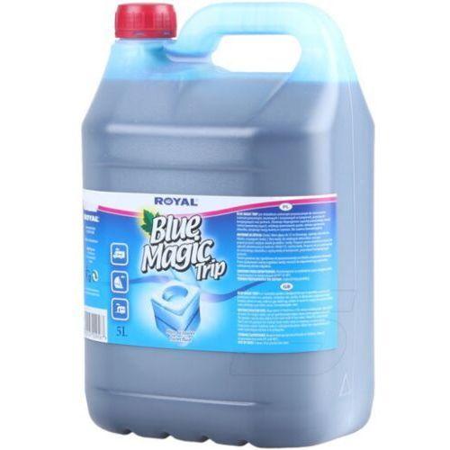 Pozostałe do czyszczenia armatury, Płyn do toalet turystycznych Blue Magic Trip 5l Płyn do toalet przenośnej TOI TOI