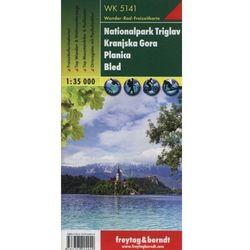 Triglav Park Narodowy Planica Kranjska Gora. Mapa 1:35 000