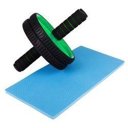 Podwójny wałek do fitness Hop-Sport - zielony