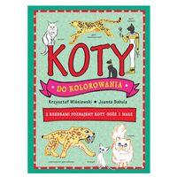 Książki dla dzieci, Koty do kolorowania - 35% rabatu na drugą książkę! (opr. miękka)