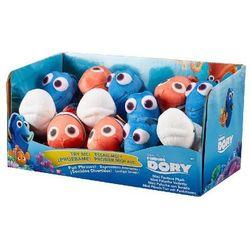 BANDAI DISPLAY 12x mały plusz z dżwiękie Dory 5szt, Nemo 4szt, Bailey 3szt (36530J)