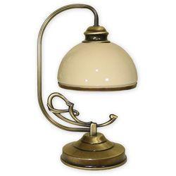 Delta lampka stołowa 1 pł. / patyna, Dodaj produkt do koszyka i uzyskaj rabat -10% taniej!