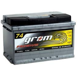 Akumulator GROM Premium 74Ah 680A EN P+ niska