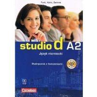 Książki do nauki języka, Studio d A2 SB+WB +CD BC.edu - Hermann Funk (opr. broszurowa)