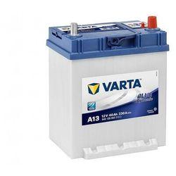 Akumulator VARTA Blue Dynamic A13 40Ah 330A EN P+ Japan