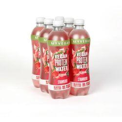 Napój Clear Vegan Protein Water - 6 x 500ml - Butelka - Truskawka