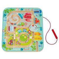 Gry dla dzieci, HABA Magnetyczna zabawa Miejski labirynt 301056