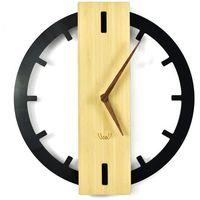 Zegary, Nowoczesny Zegar ścienny Bamboos plexi