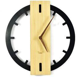 Nowoczesny Zegar ścienny Bamboos plexi